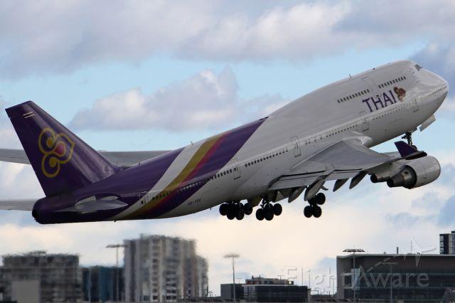 Boeing 747-400 (HS-TGG) - on 11 August 2019