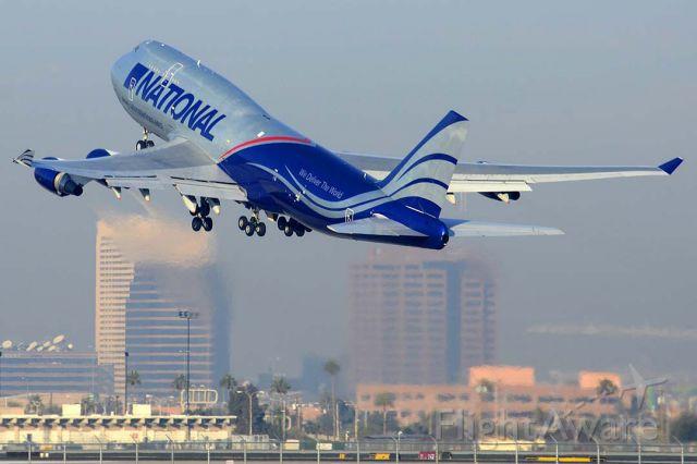 Boeing 747-400 (N919CA) - 747-428BCF N919CA departing for Louisville International.
