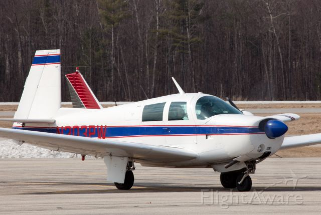 Mooney M-20 (N203PW) - Built for speed!