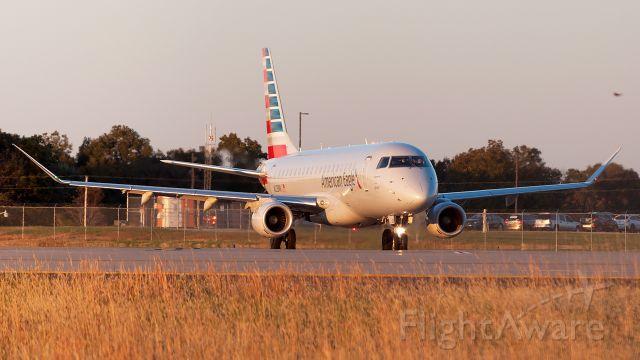 Embraer 175 (N225NN) - Sunset shot!