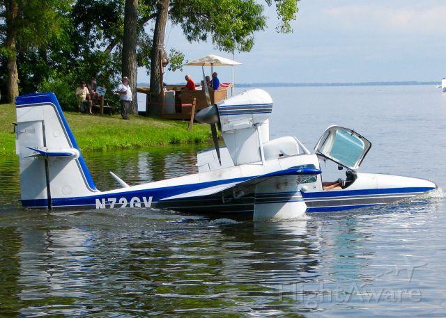 LAKE LA-200 (N72GV) - AirVenture 2016.  Consolidated Aeronautics Inc. LAKE LA-4-200