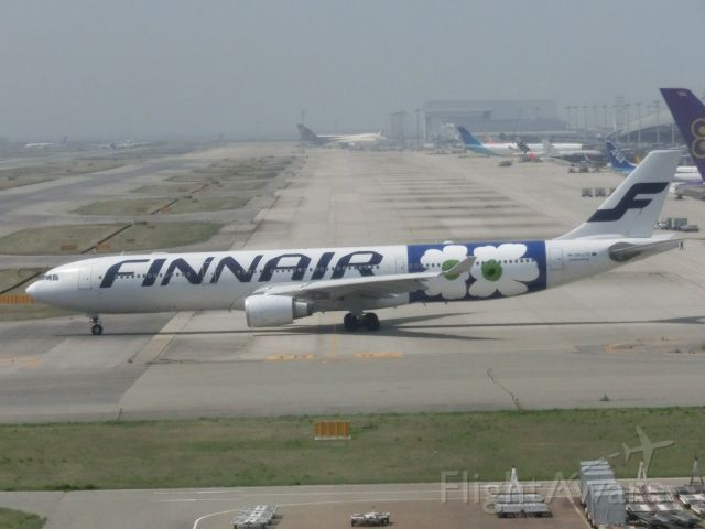 Airbus A330-300 (ОHLTО) - フィンエアーのマリメッコです。