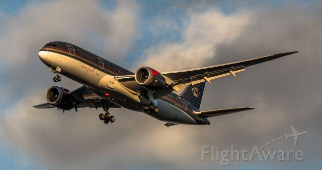 Boeing Dreamliner (Srs.8) (JY-BAC)
