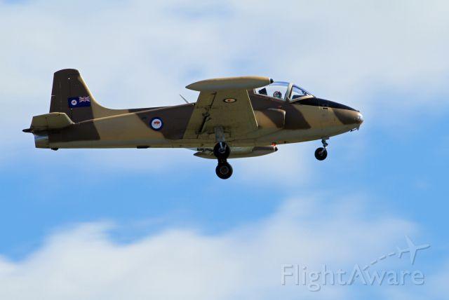 HUNTING PERCIVAL P-84 Jet Provost (VH-YZB)