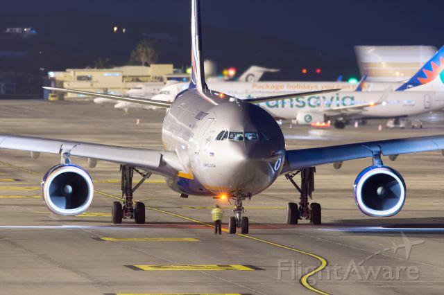 Airbus A330-300 (VQ-BQX) - TENERIFE SUR<br />06/01/2017