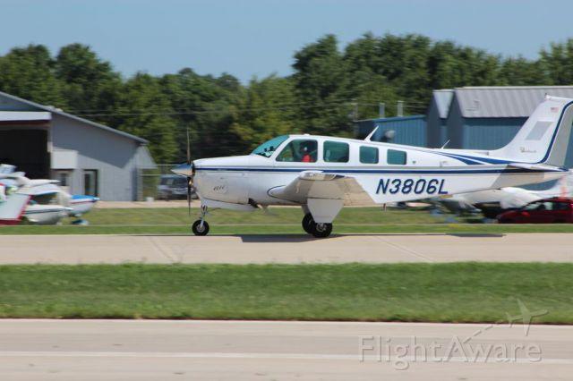 Beechcraft Bonanza (36) (N3806L) - 1st flight to Airventure (x) bucket list