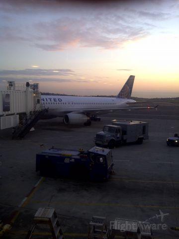 Airbus A320 — - Boston Sunrise