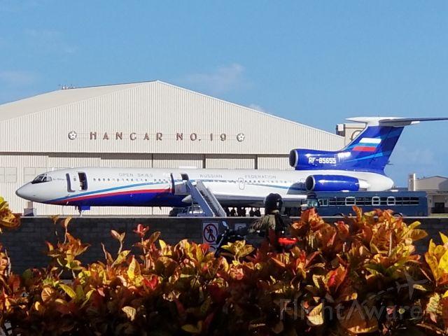 RF-85655 — - Russian Federation Open Skies Tu-154M at Hickam Air Force Base 15AUG19.