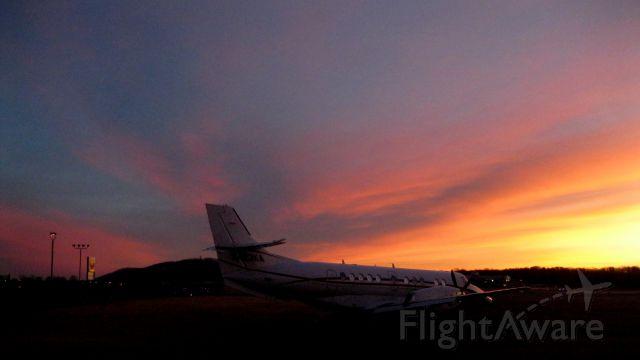JETSTREAM Jetstream 41 (N423KA) - Sunrise Jan 31, 2014 at Lynchburg Regional Airport