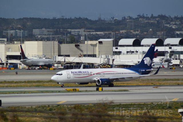 Boeing 737-800 (XA-MIA) - Arrival from Mexico City.