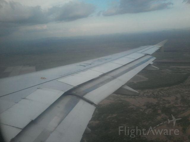 Airbus A319 (XA-VOL) - En aproximación al Aeropuerto Internacional de Hermosillo Sonora México