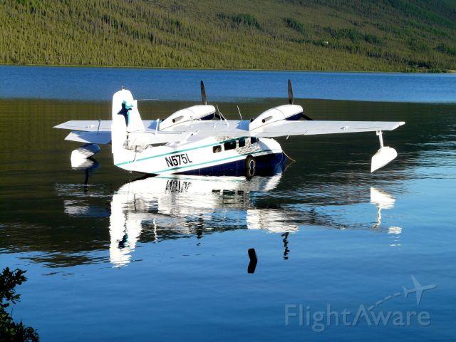Grumman G-44 Widgeon (N575L) - Wild lake alaska
