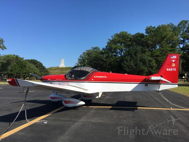 N48TK — - N48TK at First Flight airport, Kill Devil Hills, NC 10/6/20.