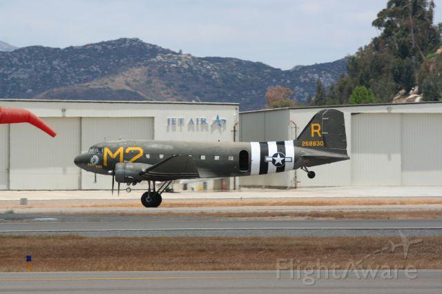 — — - C-47  SEE  El Cajon, CA