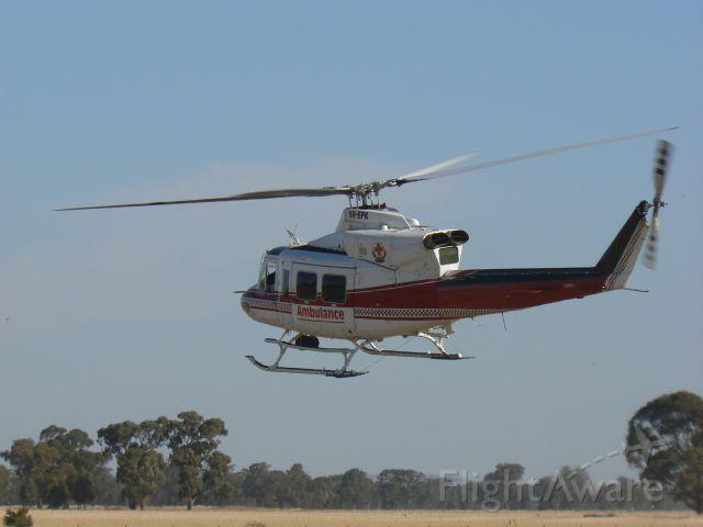 Bell 412 (VH-EPK) - HELIMED 3