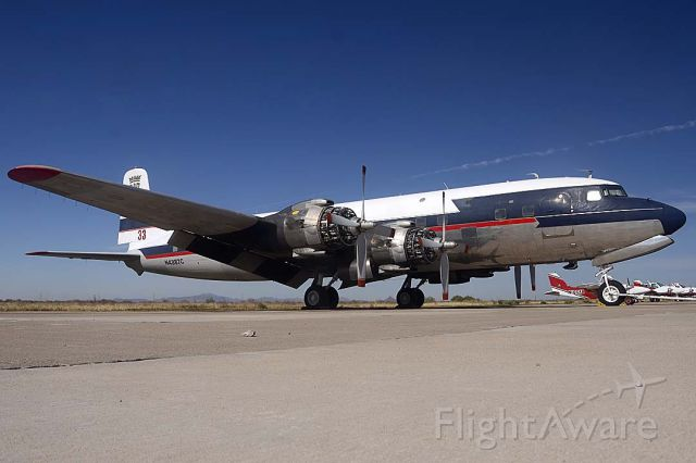 Douglas DC-7 (N4887C) - International Air Response DC-7B N4887C has carried the same registration since it was delivered to Delta Airlines on November 25, 1957. Its construction number is 45351.