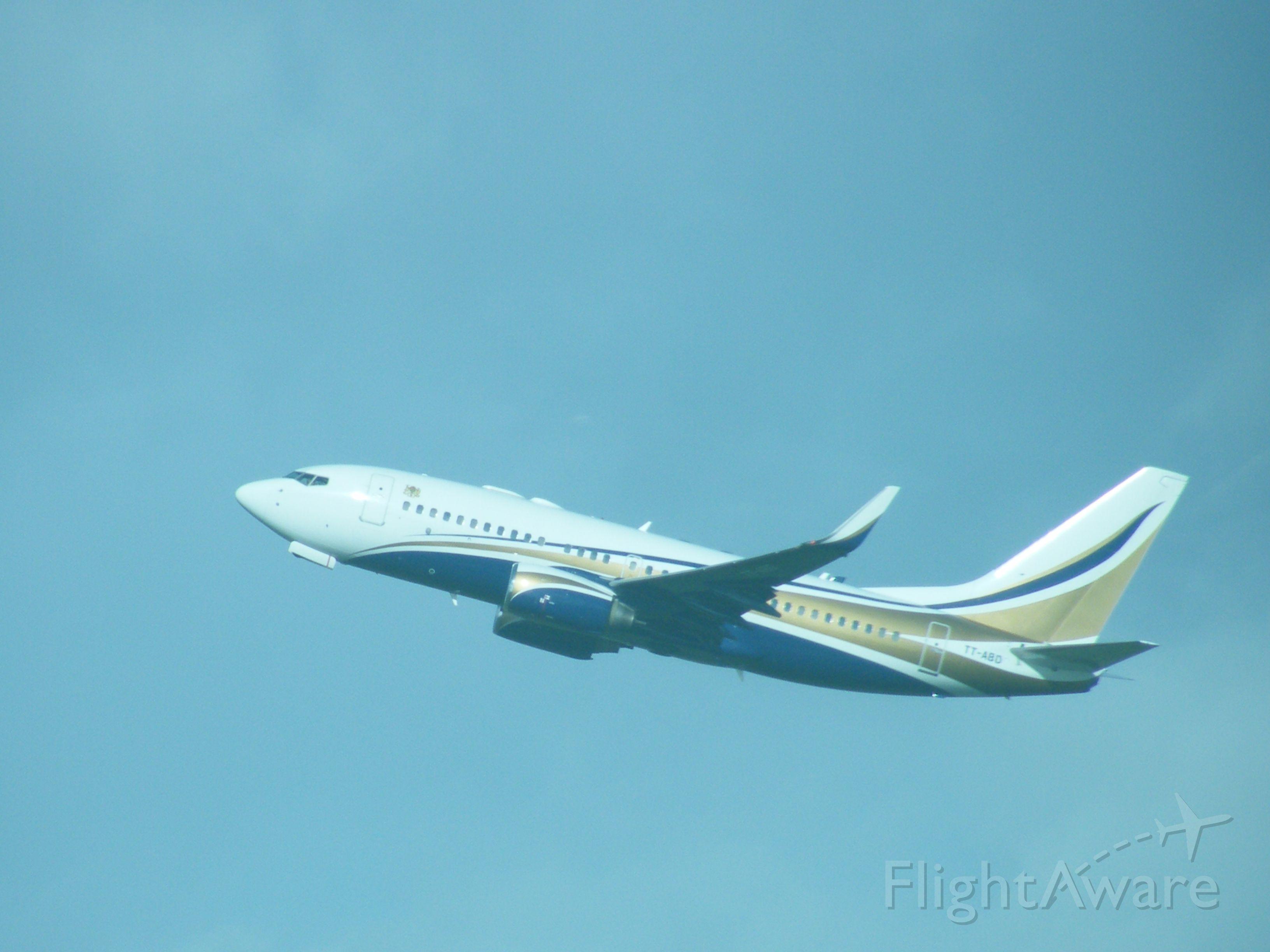 Boeing 737-700 (TT-ABD) - TT ABD B737 TCHAD GOV