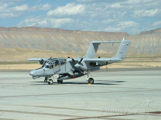North American Rockwell OV-10 Bronco (15-5492) - 08 JUN 2013 - US Navy OV-10G+ test aircraft visiting KGJT