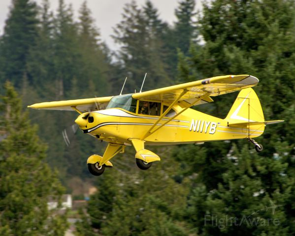 Piper PA-20 Pacer (N11YB) - 1950 Piper PA-50