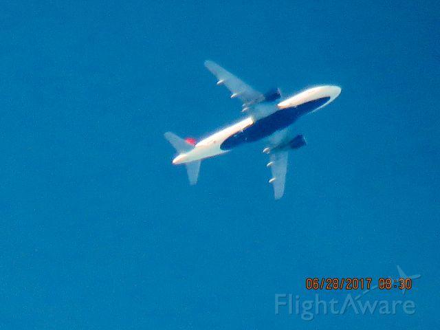 Airbus A319 (N362NB)