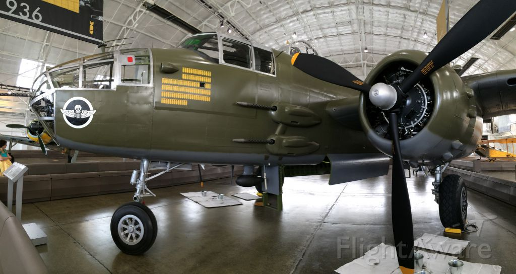 North American TB-25 Mitchell (04-1123) - Flying Heritage Collection B-25J