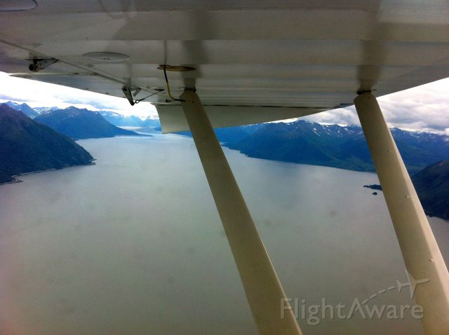 Piper PA-22 Tri-Pacer — - 3500ft over Turnagain Arm PALH to PASX