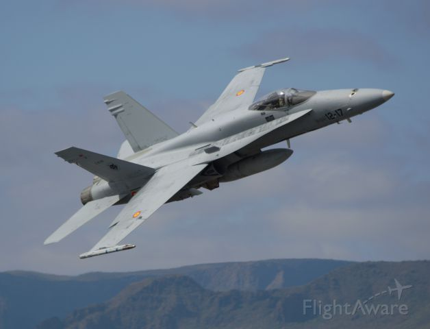 C1559 — - DACT 2017(Dissimilar Air Combat Training)br /joint training forces aeres from Spain and Italy