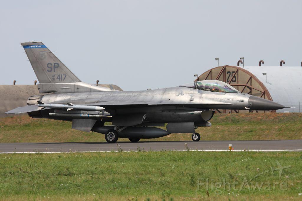 Lockheed F-16 Fighting Falcon — - F-16 CJ at Spangdahlem Air Base