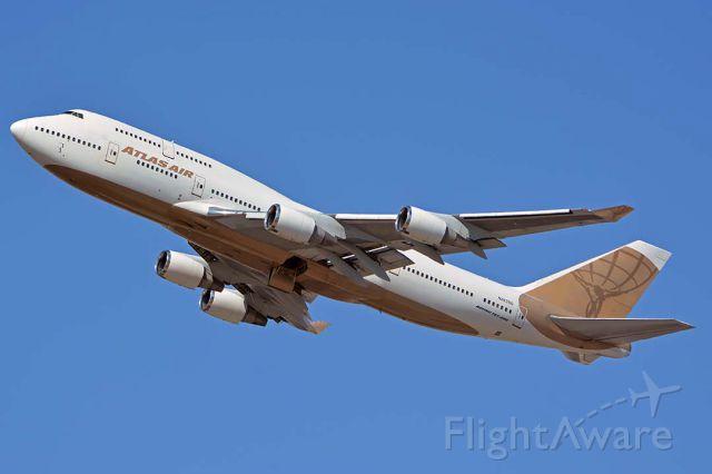 Boeing 747-400 (N263SG) - Atlas Air Boeing 747-481 N263SG at Phoenix Sky Harbor on September 15, 2018.