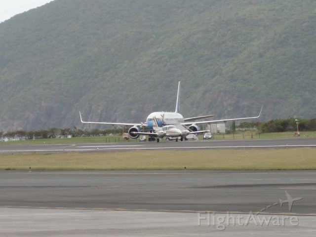 Boeing 757-200 — - VP Joe Biden on Holiday in St. Thomas