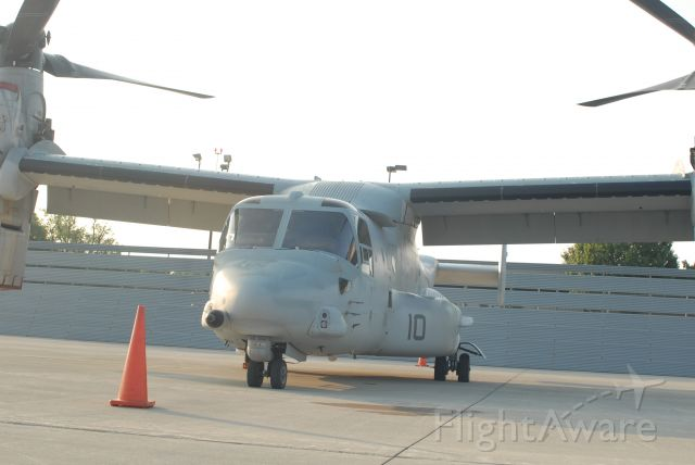 Bell V-22 Osprey — - Front view from ramp