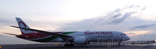 Boeing Dreamliner (Srs.8) (CN-RGX) - CN-RGX taxiing to Terminal One JFK IAP