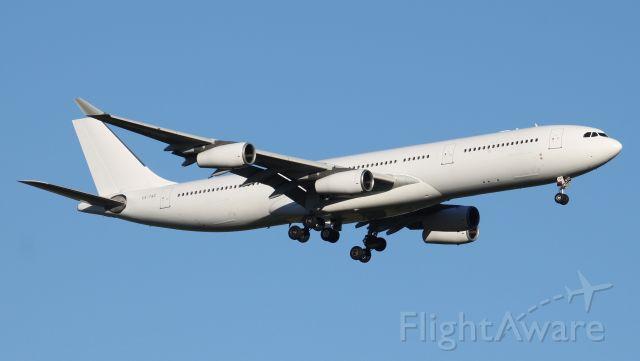 Airbus A340-300 (CS-TQZ) - Short Final To Rwy 25