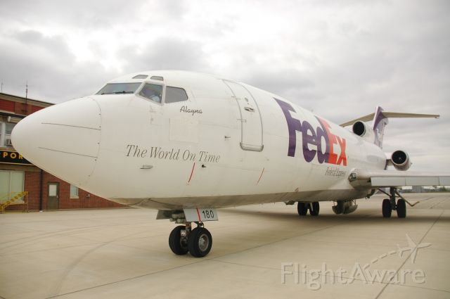 N180FE — - FedEx Boeing 727 Donated to Purdue University for Training