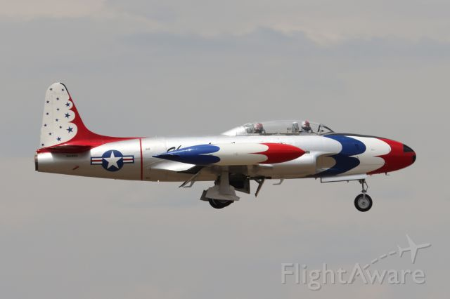 Lockheed T-33 Shooting Star (N514RH) - Sun, Jun 28, 2020 at 12:10 PM