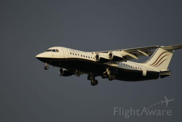 British Aerospace BAe-146-300 (C-GSUI) - North Cariboo Air Flight NCB1003 from Nanaimo (YCD) approaching Runway 26L at YVR