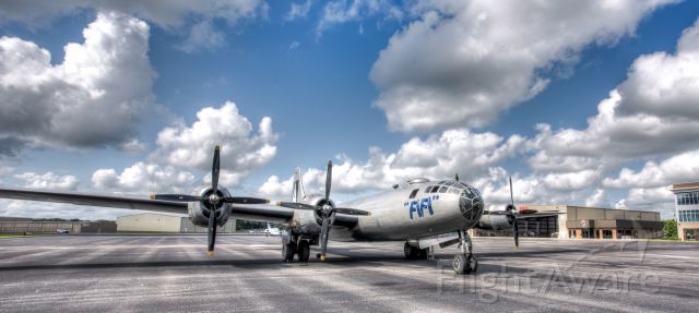Boeing B-29 Superfortress (N529B) - FIFI in front of Corporate Flight Management in Smyrna, TN