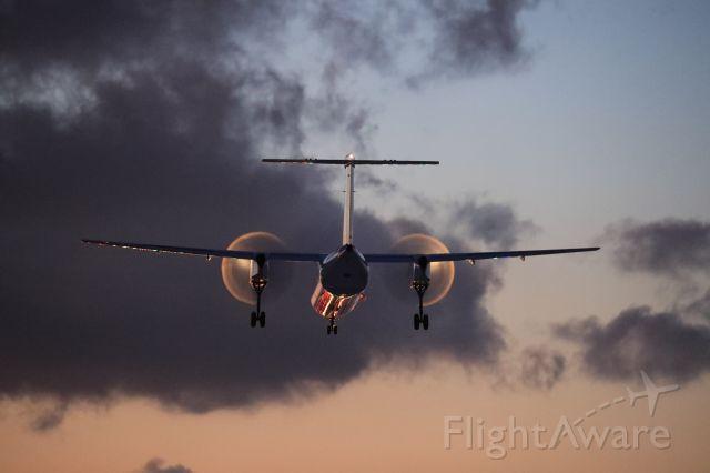 de Havilland Dash 8-400 (JA851A) - January 11th 2020:CTS-HKD.
