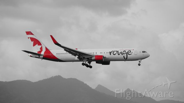 BOEING 767-300 (C-FMXC) - Air Canada Rouge
