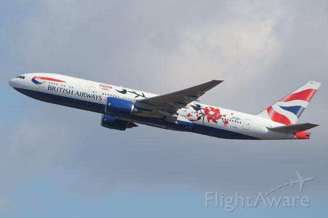 Boeing 777-200 (G-YMML)
