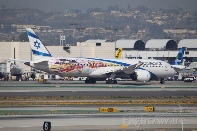Boeing 787-9 Dreamliner (4X-EDD) - LAS VEGAS