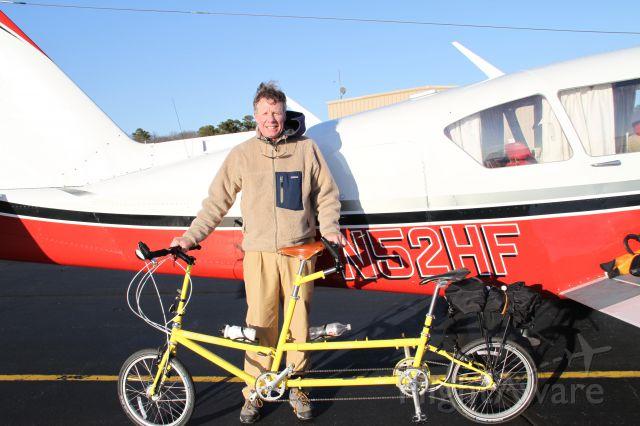 — — - Tandem Bike Friday fits in Aztec!