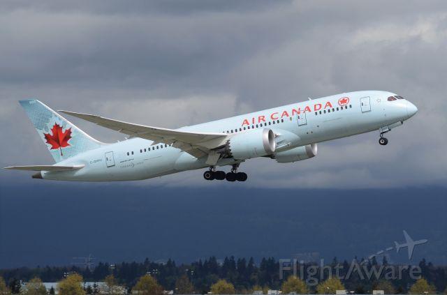 Boeing 787-8 (C-GHPU) - Beautiful Vancouver