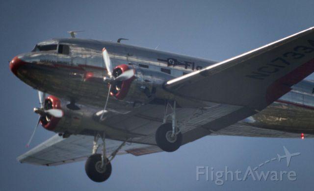 Douglas DC-3 (NC17334) - Back yard, Dallas, TX.