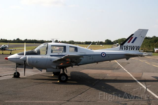 BEAGLE-AUSTER B-206 (N181WW) - 18-Sep-09