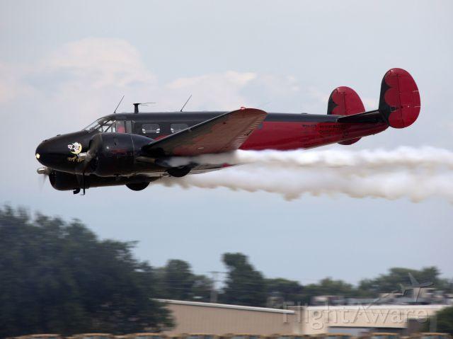 Beechcraft 18 (N9109R) - Oshkosh 2014 is coming up!