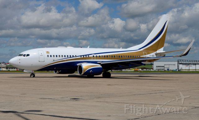 Boeing 737-700 (TT-ABD) - 11/05/2013<br />Tchad gouvernement