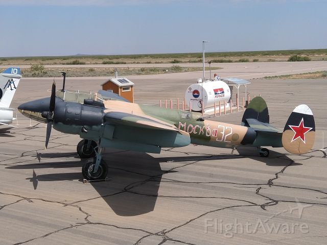 — — - Tupolev TU-2.  This aircraft is at the War Eagles Air Museum in Santa Teresa, New Mexico.