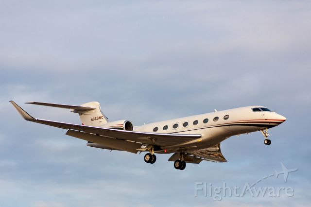 Gulfstream Aerospace Gulfstream G650 (N923WC)