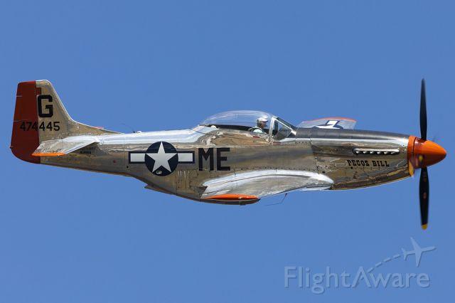 North American P-51 Mustang (N4132A)